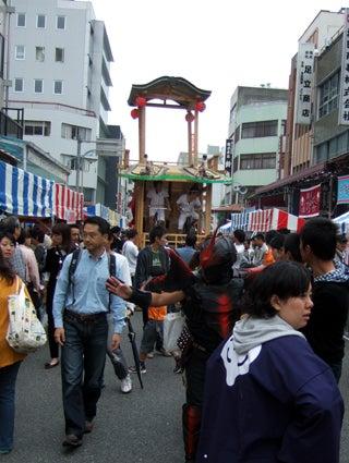 ゑびす祭り×あいちトリエンナーレ2010 ~長者町山車観察日記~-2010.10.24-4