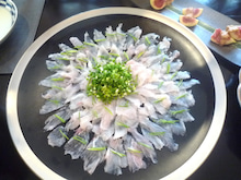 $NONNON cooking salon 高橋典子のブログ-薄造り