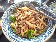 $NONNON cooking salon 高橋典子のブログ-秋のきのこの和風サラダ