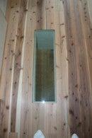 ぺこりんのブログ-床に強化ガラス