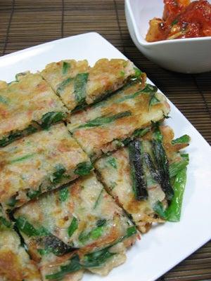 韓国料理サランヘヨ♪ I Love Korean Food-チヂミ