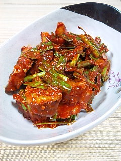 韓国料理サランヘヨ♪ I Love Korean Food-たこキムチ