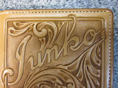 Kawamura Fine Leather Arts & Crafts Diary-ウォレット