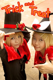 $eternal melody~-Trick and Treat cosplay with Purru
