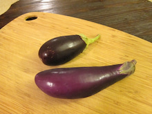 くみこ日記 in the USA-eggplant