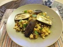 くみこ日記 in the USA-eggplant dish