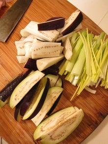 くみこ日記 in the USA-eggplant 2