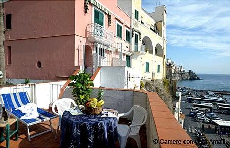 【彼女の恋した南イタリア】 ~ diario-Camere con Vista ad Amalfi