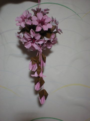 ハート 折り紙:桜の折り紙-ameblo.jp