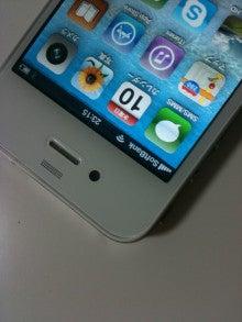 クリエイティブ・ディレクター「マヒマヒ」のゆる~ぃブログ。。-iPhone4の白?
