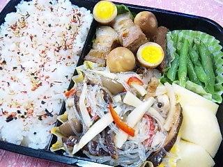 韓国料理サランヘヨ♪ I Love Korean Food-きのこチャプチェ