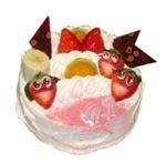あなたの描いた絵もケーキになる!クアンカ・ドーネ-いちごちゃん