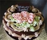 あなたの描いた絵もケーキになる!クアンカ・ドーネ-バターチョコ