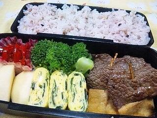 韓国料理サランヘヨ♪ I Love Korean Food-牛肉とエリンギの串焼き