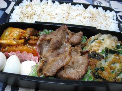 韓国料理サランヘヨ♪ I Love Korean Food-桜海老とニラのチヂミ