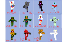 $0 or all-Minecraft Skins