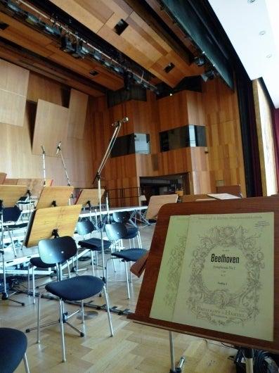 ドイツでレコーディング-beethoven1