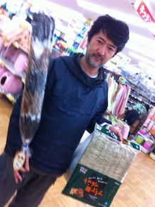 劇団☆死期のブログ-顧問の買い物風景