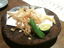 私的食い道楽雑記-きろく~白魚の天ぷら