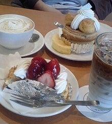 さより~なの簡単・節約料理レシピ-世田谷区用賀ヴォアラさんのケーキ