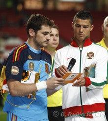 蹴球中毒な男の独り言日記-バルサ偏愛的バルサ備忘録親善試合 ポルトガル代表vsスペイン代表          ブラジル代表vsアルゼンチン代表コメント