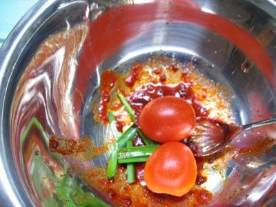 韓国料理サランヘヨ♪ I Love Korean Food-プチトマトのキムチ