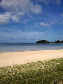 グアム撮影ロケやサイパン撮影ロケなら、グアムTVの撮影コーディネーター NORI (ノリ)のブログ-グアムアガニアビーチ