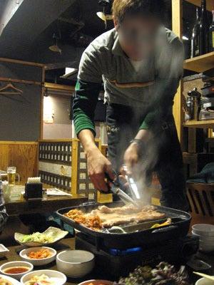 韓国料理サランヘヨ♪ I Love Korean Food-新大久保 かぼちゃ