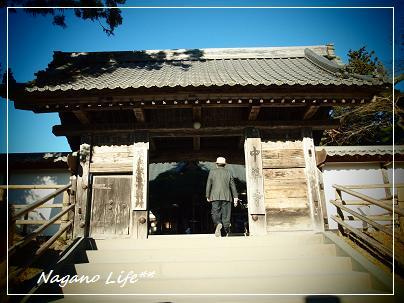 Nagano Life**-本堂・門