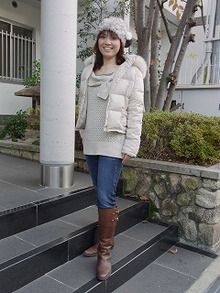 神戸のカラーリスト スタイリスト  トータル素敵プロデューサー☆みつこのブログ-今日のスタイル101128