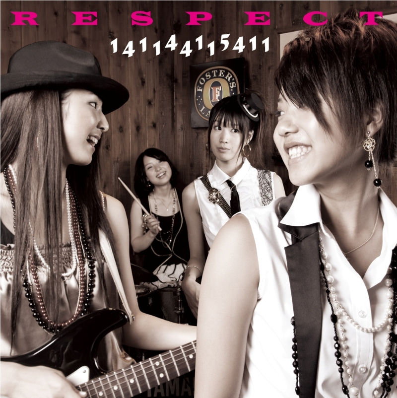 RESPECT debut album「141144115411」