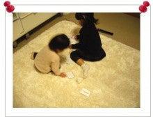 ママと一緒に英語のお勉強♪♪-101203