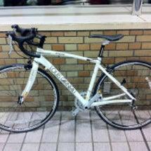 ロードバイクデビュー…