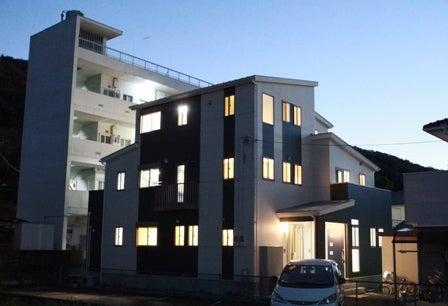 徳島県で家を建てるならサーロジック-外観 3階建て