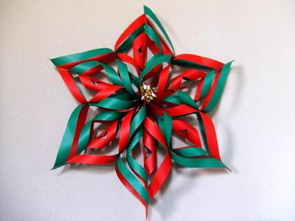クリスマス 折り紙 折り紙 クリスマスリース : ameblo.jp