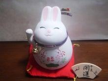 $渡辺ひろし極真会館宮城県本部会長ブログ-招きウサギ