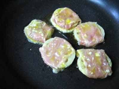 韓国料理サランヘヨ♪ I Love Korean Food-豚肉とれんこんのジョン