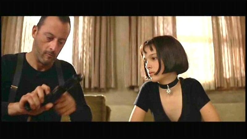 なんといってもこのナタリーポートマン演じるマチルダの髪型!ボブが流行している今、真似している人がたくさんいますね!