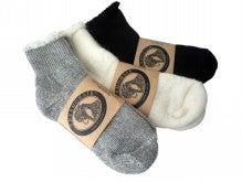 アンゴラヤギの靴下-アンクルソックス3色