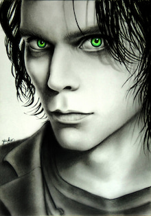 Ville Valo Drawings -ville valo art drawing