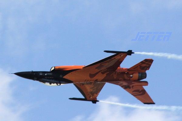 ジェッターの航空記-F-16 NL