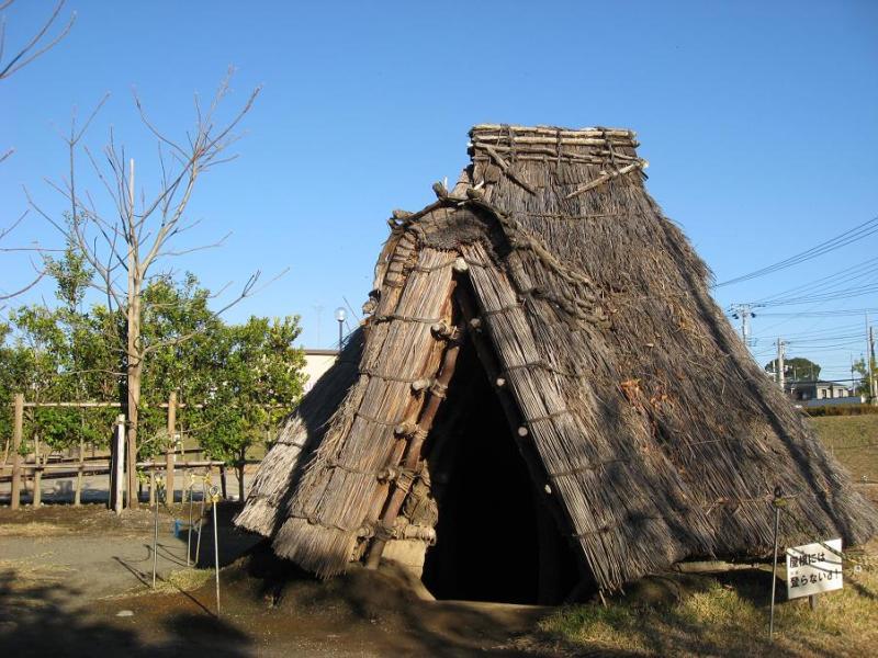 相模原市の史跡 田名向原遺跡公園 竪穴住居