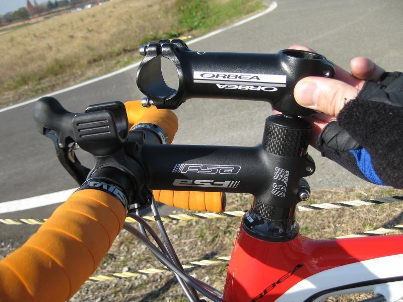 自転車の 自転車 ハンドル 交換 値段 : ステム交換、20mmの差は大きい ...