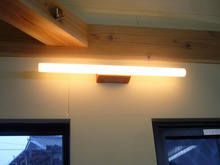 ログハウス・ビルドのブログ-照明1