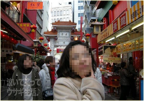 $泣いて笑ってウサギ生活♪-01南京町
