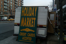 N.Y.に恋して☆-holiday market1