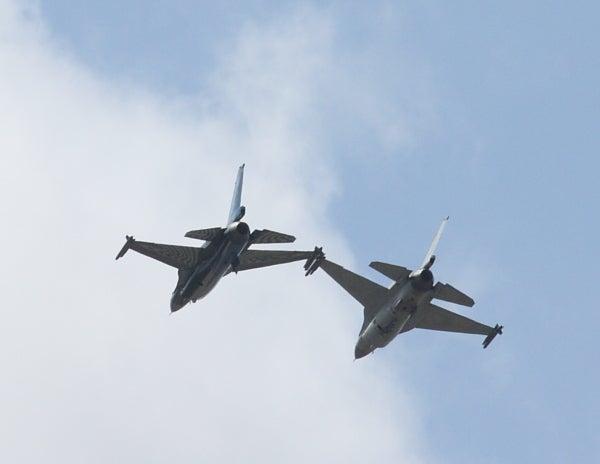ジェッターの航空記-F-16 B AirTattoo
