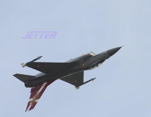 ジェッターの航空記-F-16 DK Y