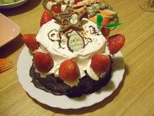 日々 更に駆け引き-今年のケーキ