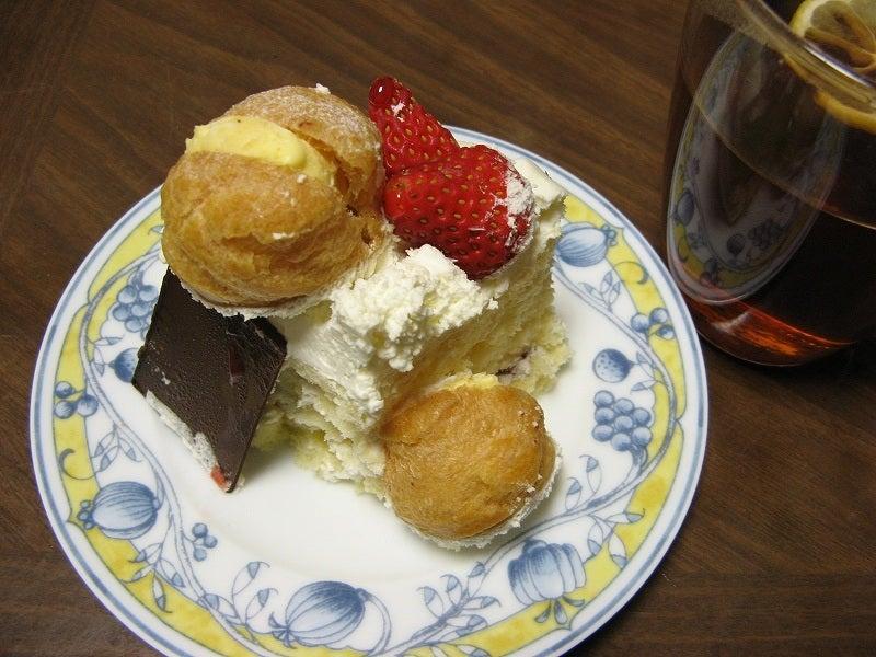 宅ひとりごはん-12/2 おやつ ケーキ